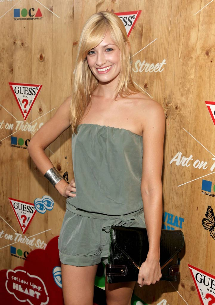 "Beth Behrs attends GUESS Hosts An Evening Of Shopping In Honor Of The ""Arts In The Streets"" Exhibition At MOCA held at the Guess Boutique on June 21, 2011 in Santa Monica, California."