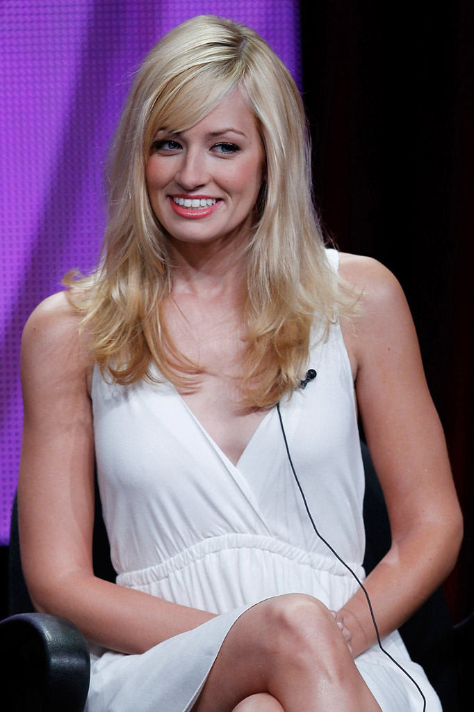 Beth Behrs attends the 2011 CBS Summer Press Tour Day Sessions at The Beverly Hilton hotel on August 3, 2011 in Beverly Hills, California.