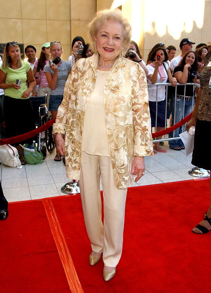 Betty White at the 34th Annual Daytime Emmy Awards.