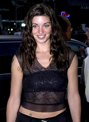 Premiere: Bianca Kajlich at the Westwood premiere of Dimension's Jay and Silent Bob Strike Back - 8/15/2001