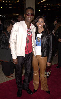 Premiere: Bill Bellamy and gal at the Century City premiere of Screen Gems' The Brothers - 3/21/2001