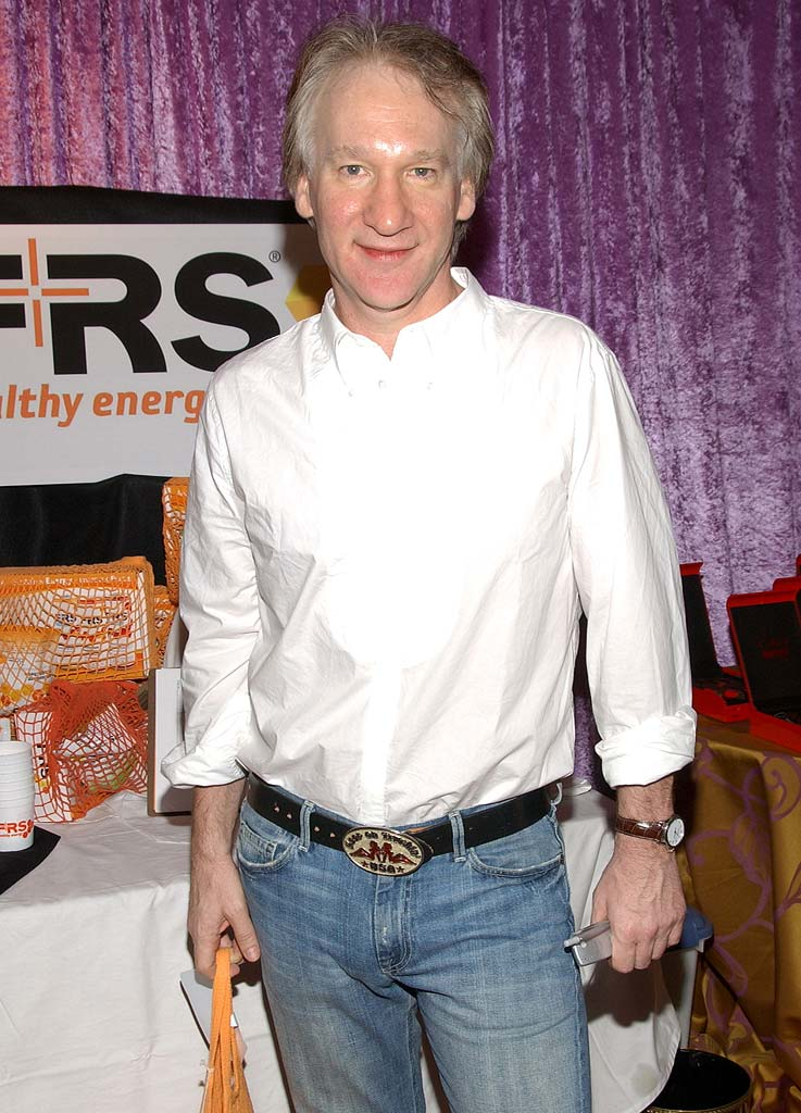 Bill Maher attends the pre-Emmy HBO luxury lounge held at the Four Seasons Hotel.