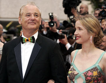 Bill Murray and Julie DelpyBroken Flowers Premiere Cannes Film Festival - 5/17/05