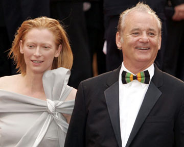 Tilda Swinton and Bill MurrayBroken Flowers Premiere Cannes Film Festival - 5/17/05