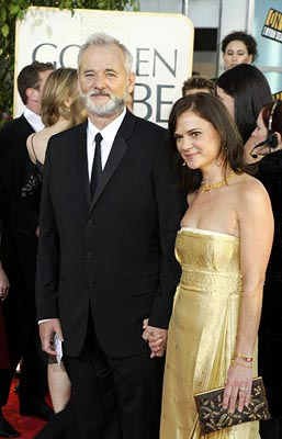 Bill Murray, Jennifer Butler Golden Globes - 1/25/2004