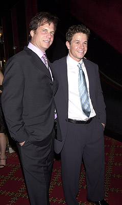 Premiere: Bill Paxton and Mark Wahlberg at the New York premiere of 20th Century Fox's Planet Of The Apes - 7/23/2001