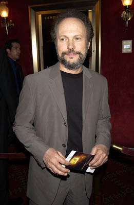 Premiere: Billy Crystal at the New York premiere of Warner Brothers' Murder By Numbers - 4/16/2002