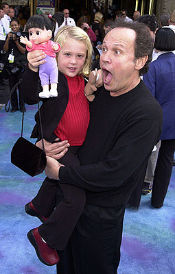 Premiere: Mary Gibbs and Billy Crystal at the Hollywood premiere of Monsters, Inc. - 10/28/2001