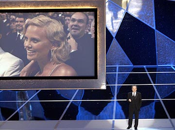 Charlize Theron and Billy Crystal 76th Academy Awards - 2/29/2004
