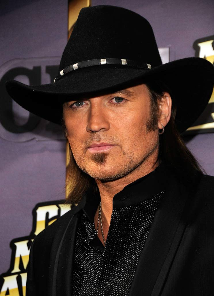 Billy Ray Cyrus attends the 2008 CMT Music Awards at Curb Event Center at Belmont University on April 14, 2008 in Nashville, Tennessee.