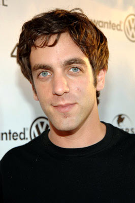 Premiere: B.J. Novak at the Hollywood premiere of Universal Pictures' The 40-Year-Old Virgin - 8/11/2005