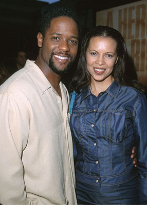 Premiere: Blair Underwood at the Beverly Hills Academy Theater premiere for Dreamworks' Gladiator - 5/1/2000