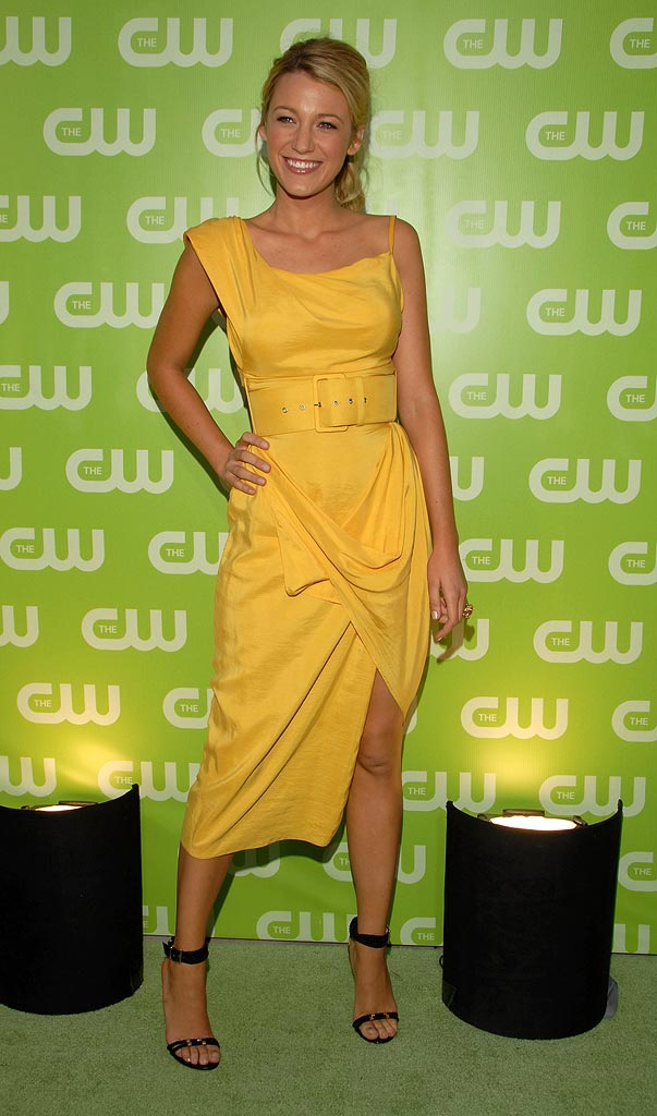 Blake Lively at the CW TCA Upfronts Party in Los Angeles  - 07/20/2007