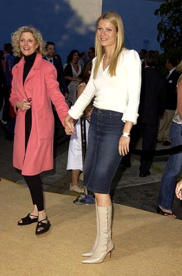 Premiere: Blythe Danner and Gwyneth Paltrow at the LA premiere of New Line's Austin Powers in Goldmember - 7/22/2002