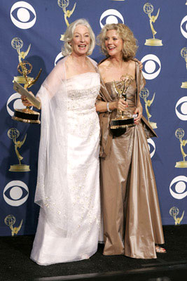 Winners Jane Alexander and Blythe Danner 57th Annual Emmy Awards Press Room - 9/18/2005