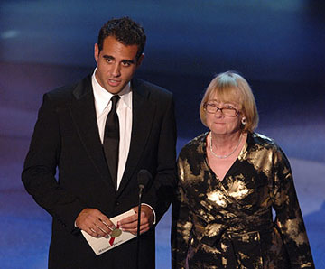 Bobby Cannavale and Kathryn Joosten Emmy Awards - 9/18/2005