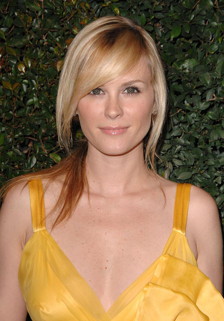 Bonnie Somerville arrives to The Art of Elysium 10th Anniversary Gala at Vibiana.