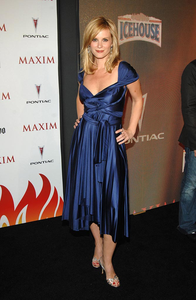 Bonnie Somerville at Maxim's 8th Annual Hot 100 Party.