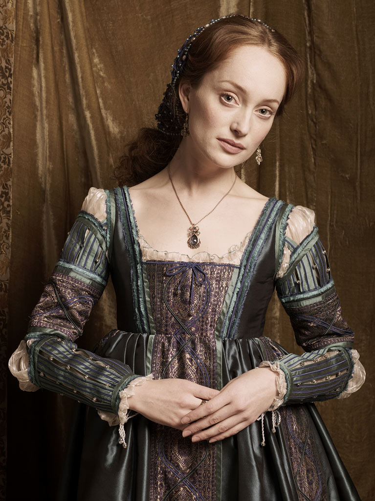 "Lotte Verbeek as Guilia Farnese in ""The Borgias"""