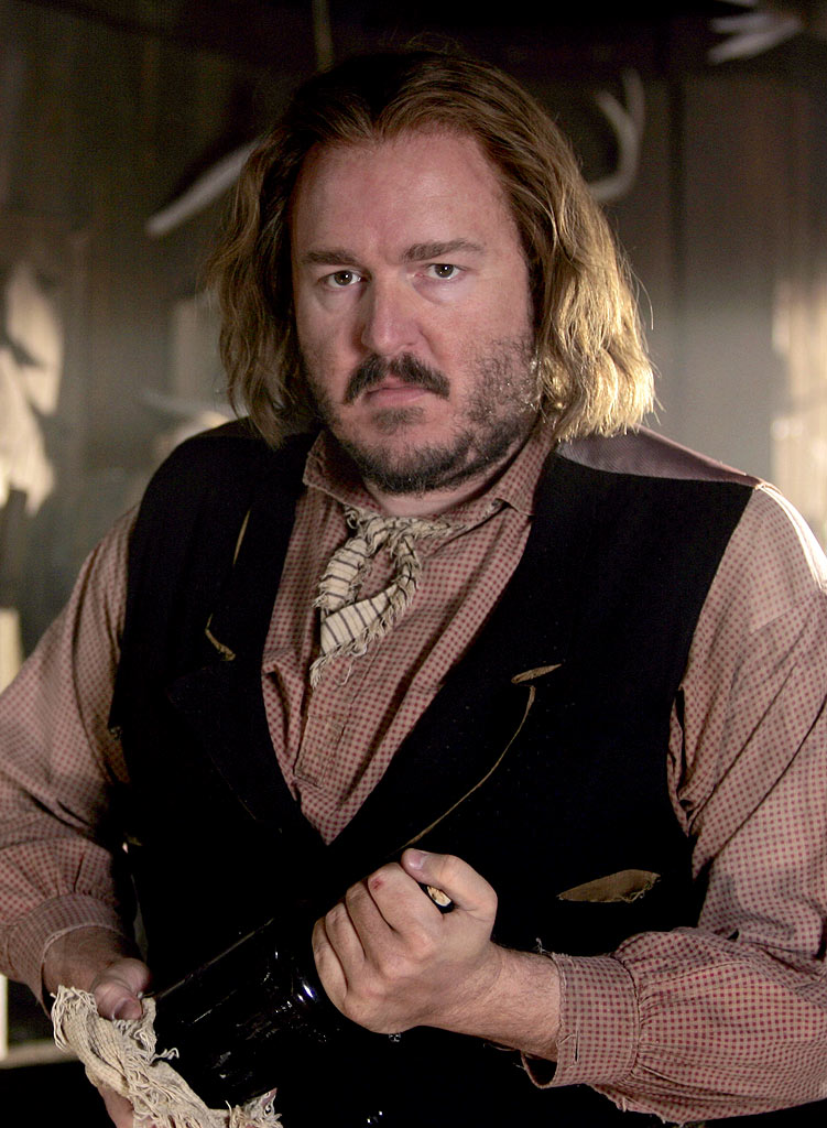 Brent Sextont stars in Deadwood on HBO.