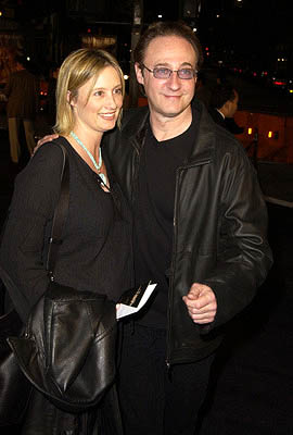 Premiere: Loree McBride and Brent Spiner at the LA premiere of Dreamworks' and Warner Brothers' The Time Machine - 3/4/2002