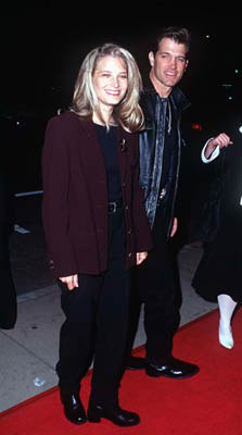 Premiere: Bridget Fonda and Chris Isaak at the Hollywood premiere of Dimension's From Dusk Till Dawn - 10/17/1996