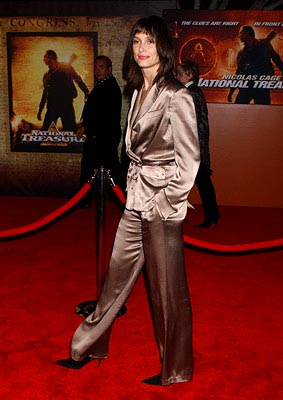 Premiere: Bridget Moynahan at the LA premiere of Touchstone's National Treasure - 11/8/2004