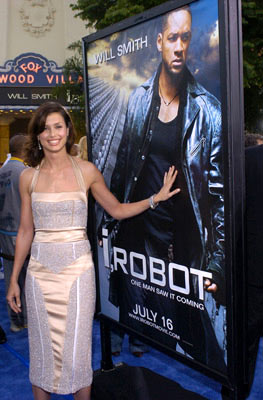 Premiere: Bridget Moynahan at the Los Angeles premiere of Twentieth Century Fox's I, Robot - 7/7/2004