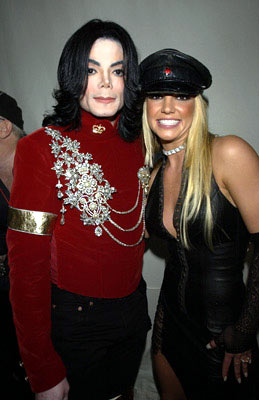 Michael Jackson and Britney Spears MTV Video Music Awards New York City, NY  - 8/29/2002