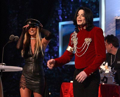 Britney Spears and Michael Jackson MTV Video Music Awards New York City - 8/29/2002