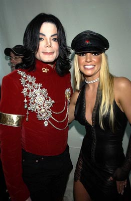 Michael Jackson and Britney Spears MTV Video Music Awards New York City - 8/29/2002