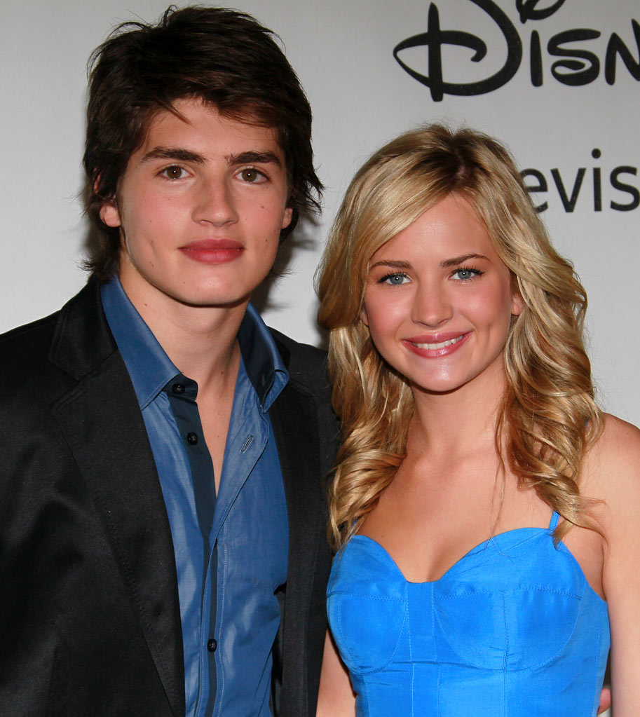 """Wizards of Waverly Place's"" Gregg Sulkin and ""Life Unexpected's"" Brittany Robertson arrive at NBC Universal's 2010 TCA Summer Party on July 30, 2010 in Beverly Hills, California."