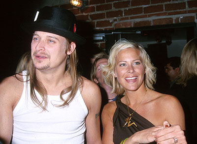 Premiere: Kid Rock and Brittany Daniel at the Hollywood premiere of Columbia's Joe Dirt - 4/1/2001