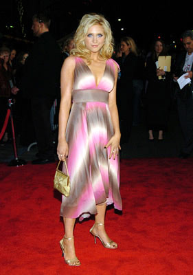 Premiere: Brittany Snow at the Hollywood premiere of Walt Disney Pictures' The Pacifier - 3/1/2005