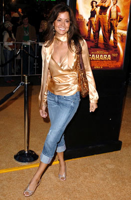 Premiere: Brooke Burke at the Hollywood premiere of Paramount Pictures' Sahara - 4/4/2005 Photos: Steve Granitz, WireImage.com