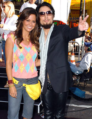 Premiere: Brooke Burke and Dave Navarro at the Hollywood premiere of Warner Bros. Pictures' Batman Begins - 6/6/2005