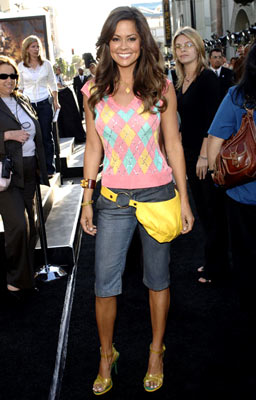 Premiere: Brooke Burke at the Hollywood premiere of Warner Bros. Pictures' Batman Begins - 6/6/2005