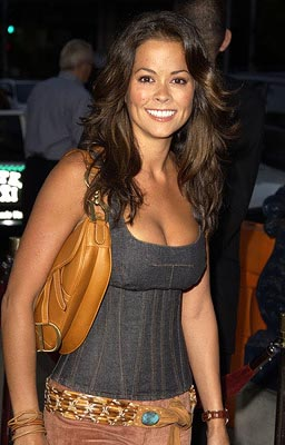 Premiere: TV Personality Brooke Burke at the Beverly Hills premiere of Paramount's Serving Sara - 8/20/2002