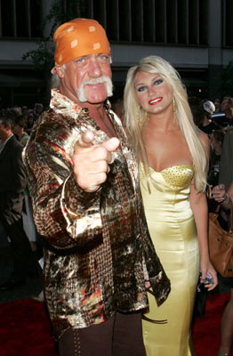 Premiere: Hulk Hogan and Brooke Hogan at the New York premiere of Paramount Pictures' War of the Worlds - 6/23/2005 Brooke Hogan