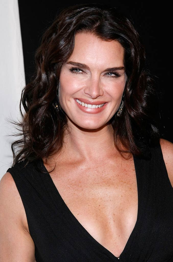 Brooke Shields arrives at the 3rd Annual Quill Awards.