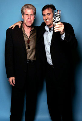 Ron Perlman and Bruce Campbell Movieline Young Hollywood Awards - 5/2/2004