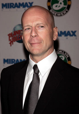 Premiere: Bruce Willis at the New York premiere of Miramax Films' Hostage - 3/8/2005