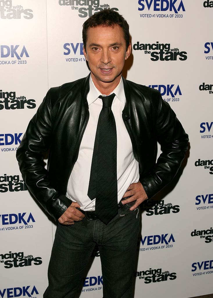 "Bruno Tonioli arrives at the ""Dancing With The Stars"" season finale after party sponsored by Svedka."