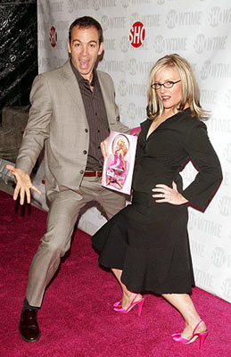 Bryan Callen and Rachael Harris at the New York premiere of Showtime's Fat Actress - 3/2/2005