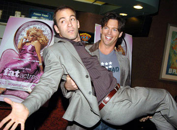 Bryan Callen and Harry Connick Jr. at the New York premiere of Showtime's Fat Actress - 3/2/2005