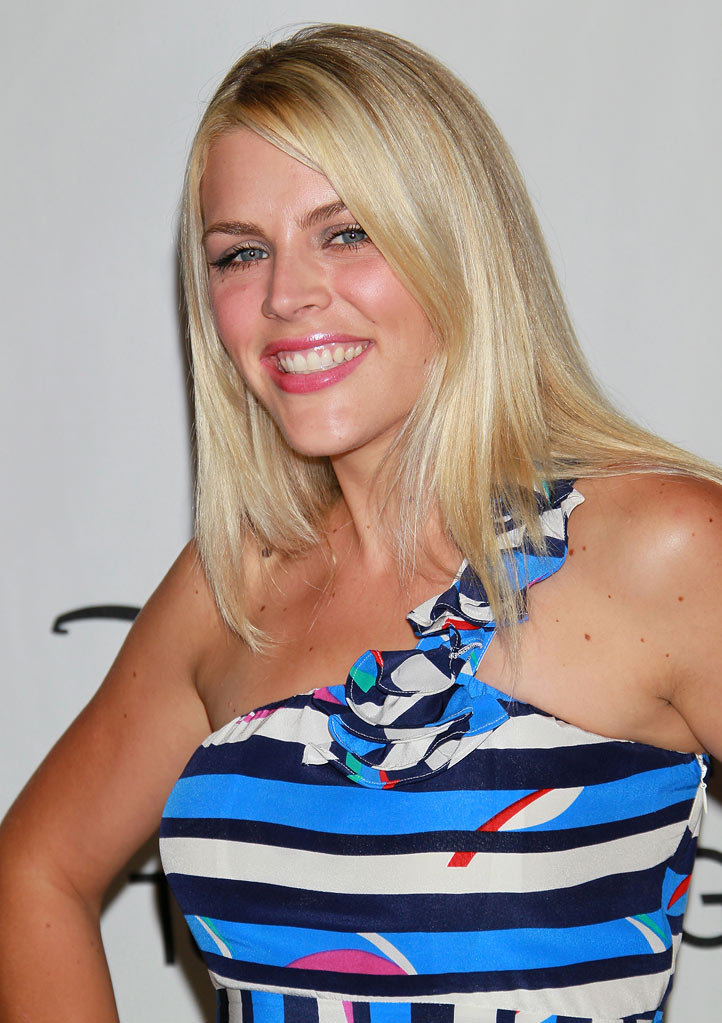 """Cougar Town's"" Busy Philipps arrives at NBC Universal's 2010 TCA Summer Party on July 30, 2010 in Beverly Hills, California."