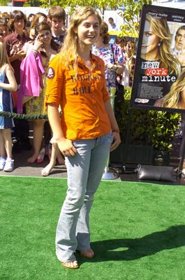 Premiere: Caitlin Wachs at the world premiere of Warner Brothers' New York Minute - 5/1/2004