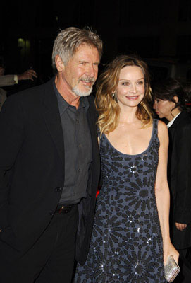 Premiere: Harrison Ford and Calista Flockhart at the LA premiere of Warner Bros. Pictures' Firewall - 2/2/2006