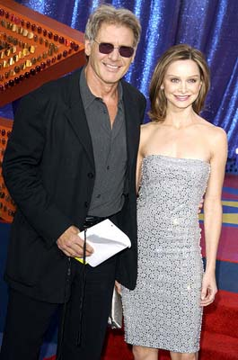 Harrison Ford and Calista Flockhart MTV Movie Awards - 5/31/2003