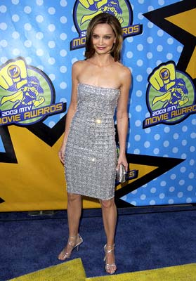 Calista Flockhart MTV Movie Awards - 5/31/2003